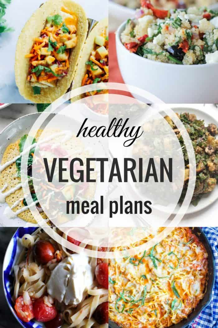 Healthy Vegetarian Meal Plan - The Roasted Root