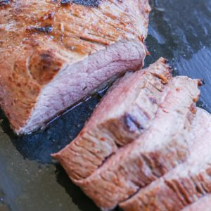 The BEST Roast Tri Tip recipe. This easy recipe turns out perfectly moist and tender!