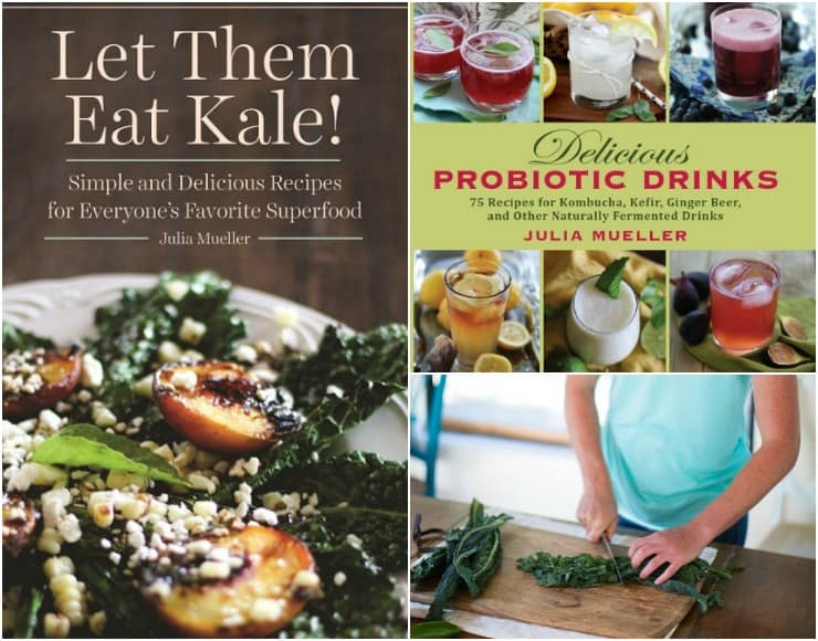 Julia Mueller's cookbooks