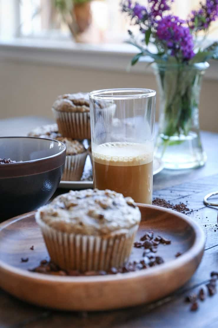 Paleo Chocolate Chip Muffins - The Roasted Root