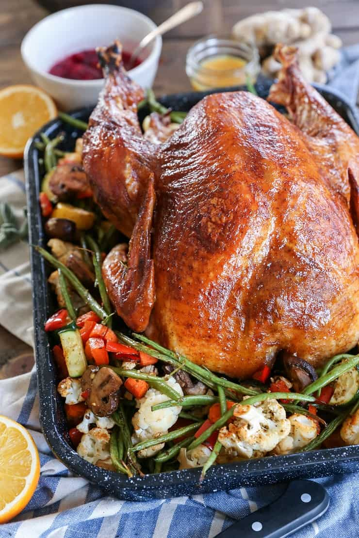 Orange-Ginger Glazed Turkey - an easy approach to Thanksgiving Turkey