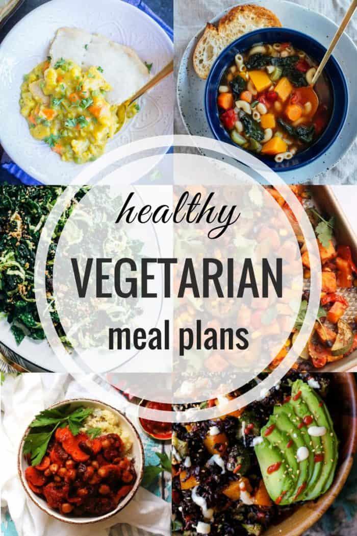 Healthy Vegetarian Meal Plan 12.03.2017