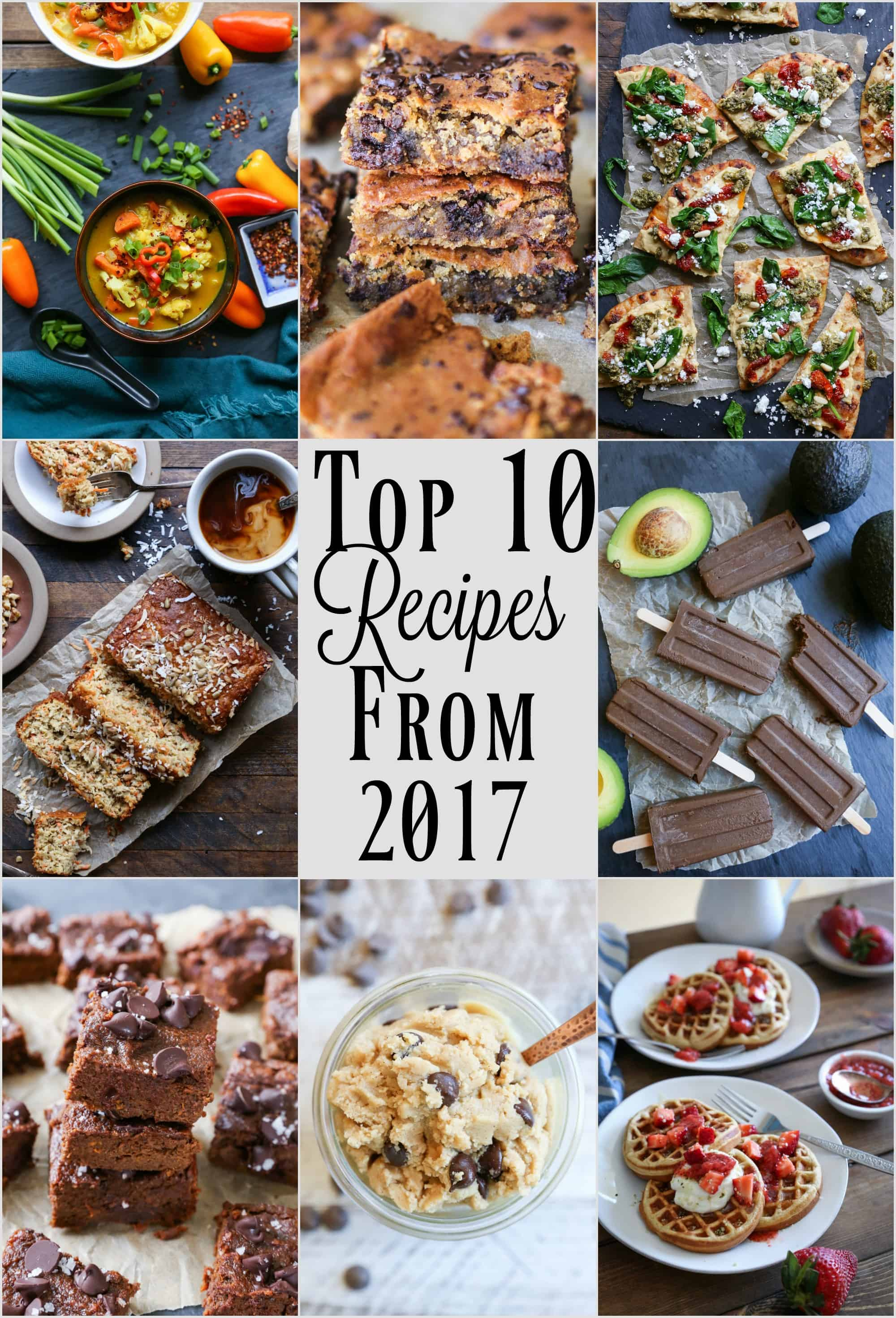 Top 10 Recipes from 2017 as seen on TheRoastedRoot.net #TheRoastedRoot