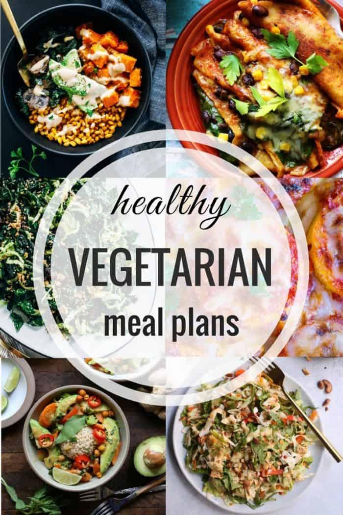 Healthy Vegetarian Meal Plan 1.14.2018