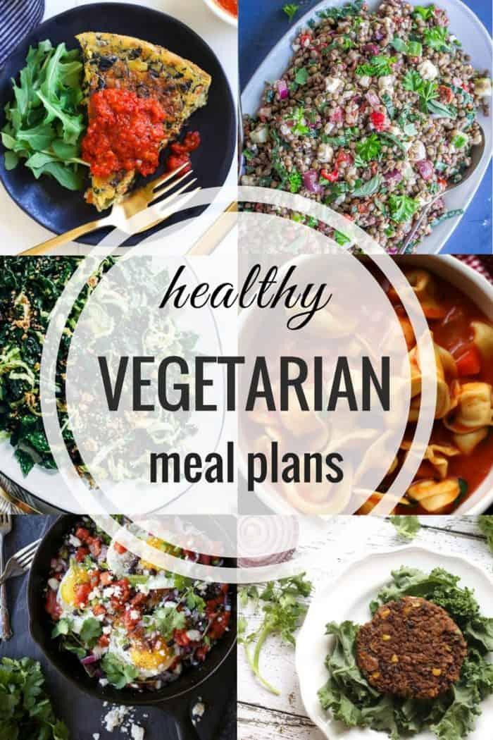 Healthy Vegetarian Meal Plan 01.28.2018