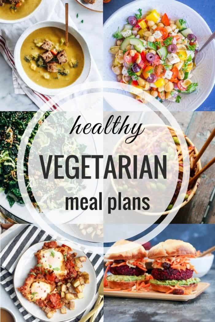 Healthy Vegetarian Meal Plan 02.11.2018