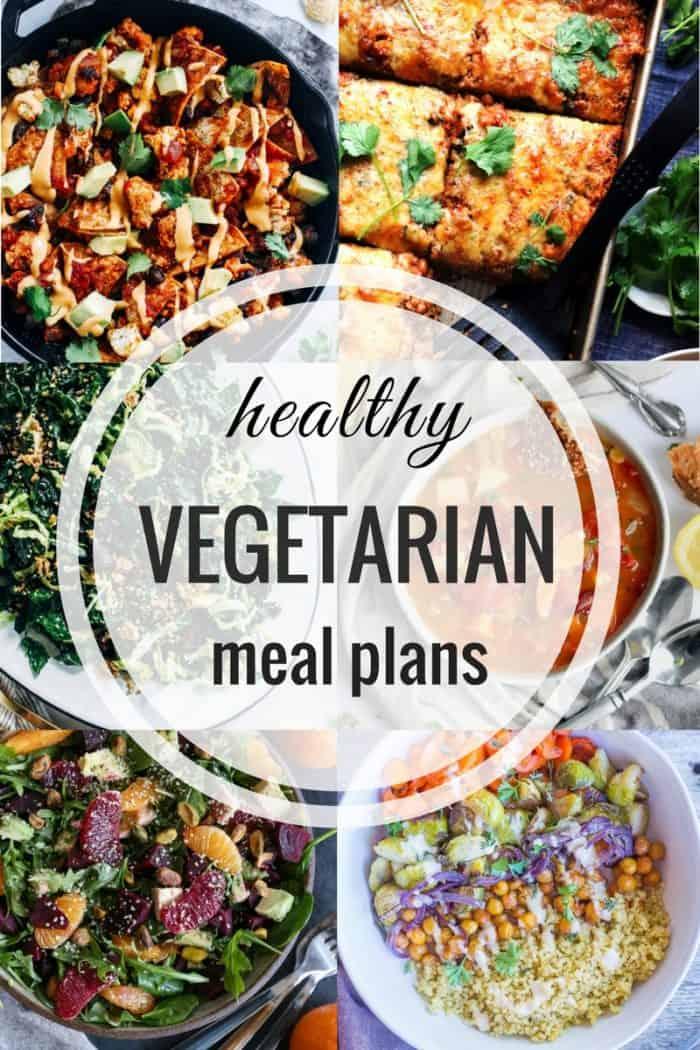 Healthy Vegetarian Meal Plan 02.04.2018