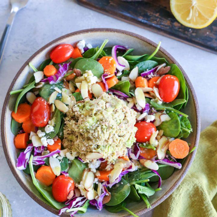 3-Ingredient Mayo-Free Tuna Salad