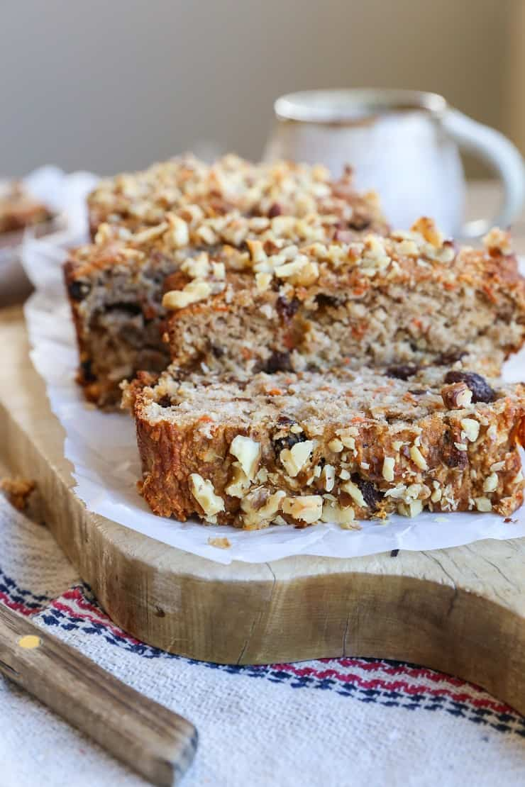 Paleo Carrot Cake Banana Bread The Roasted Root