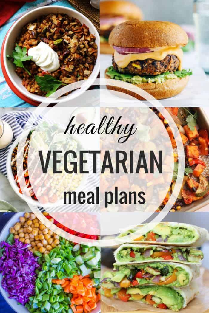 Healthy Vegetarian Meal Plan 06.17.2019