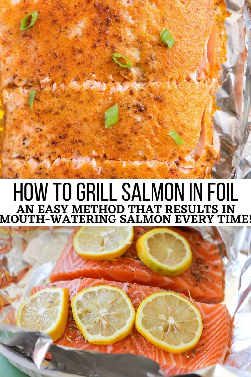 How to Grill Salmon in Foil - an easy recipe that results in mouth-watering salmon every time!