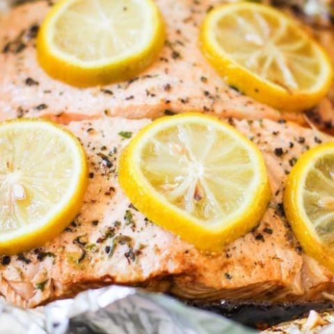 How to Grill Salmon in Foil - an easy tutorial for grilling season #keto #paleo #glutenfree #bbq