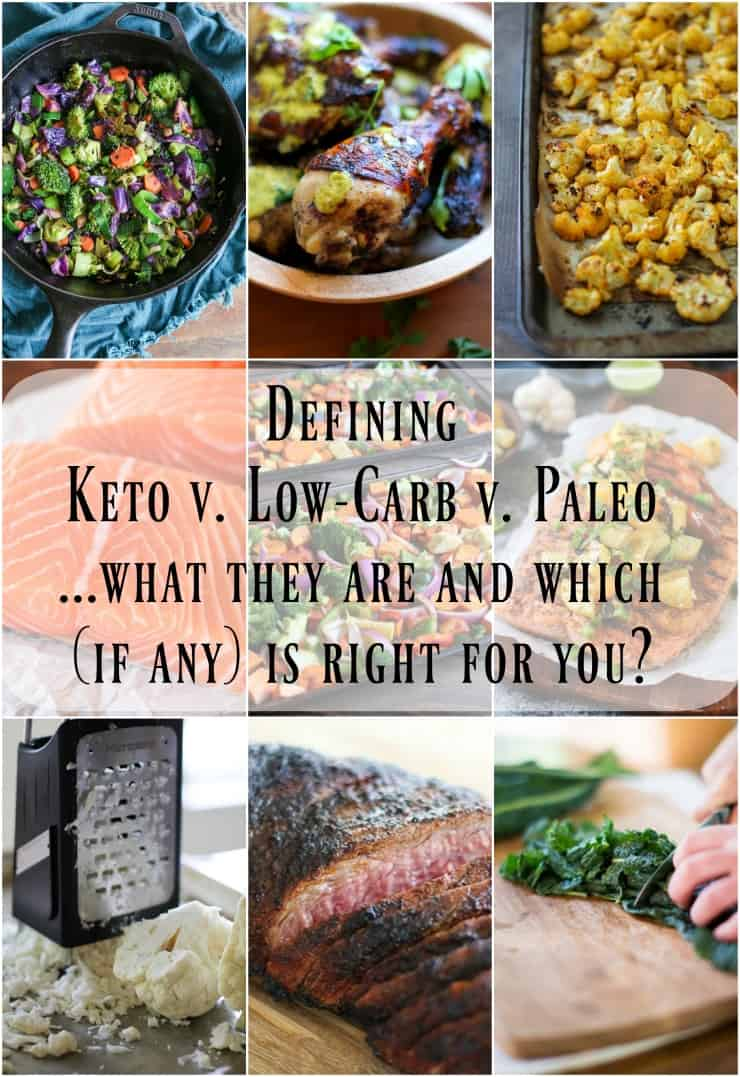 What is the Ketogenic diet versus paleo versus low-carb - and how to tell which if any is right for you