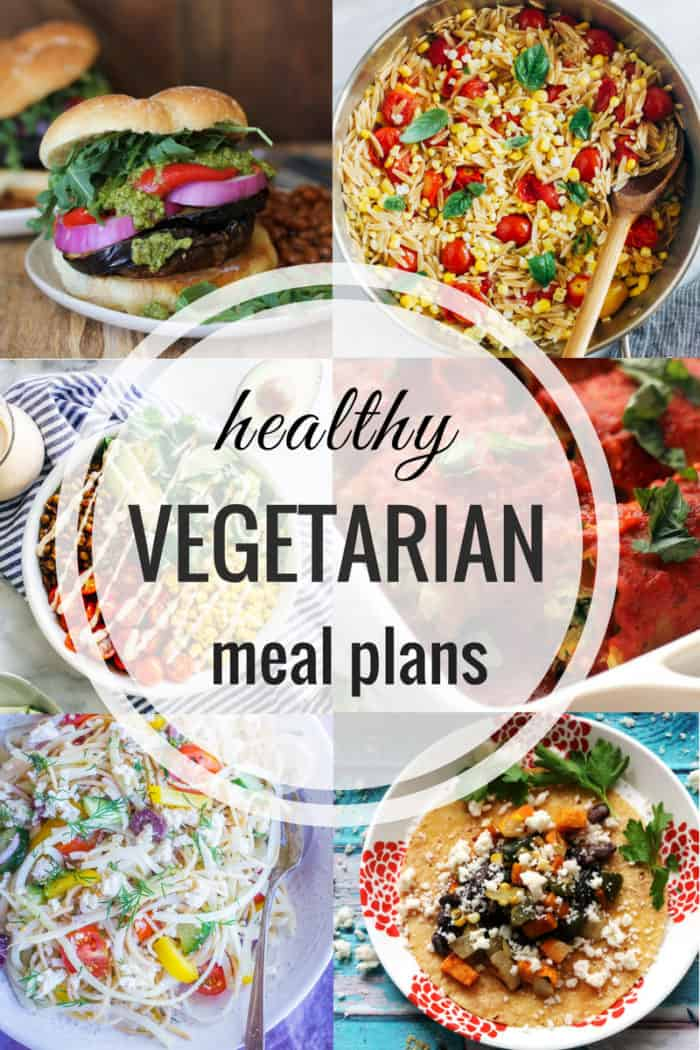 Healthy Vegetarian Meal Plan
