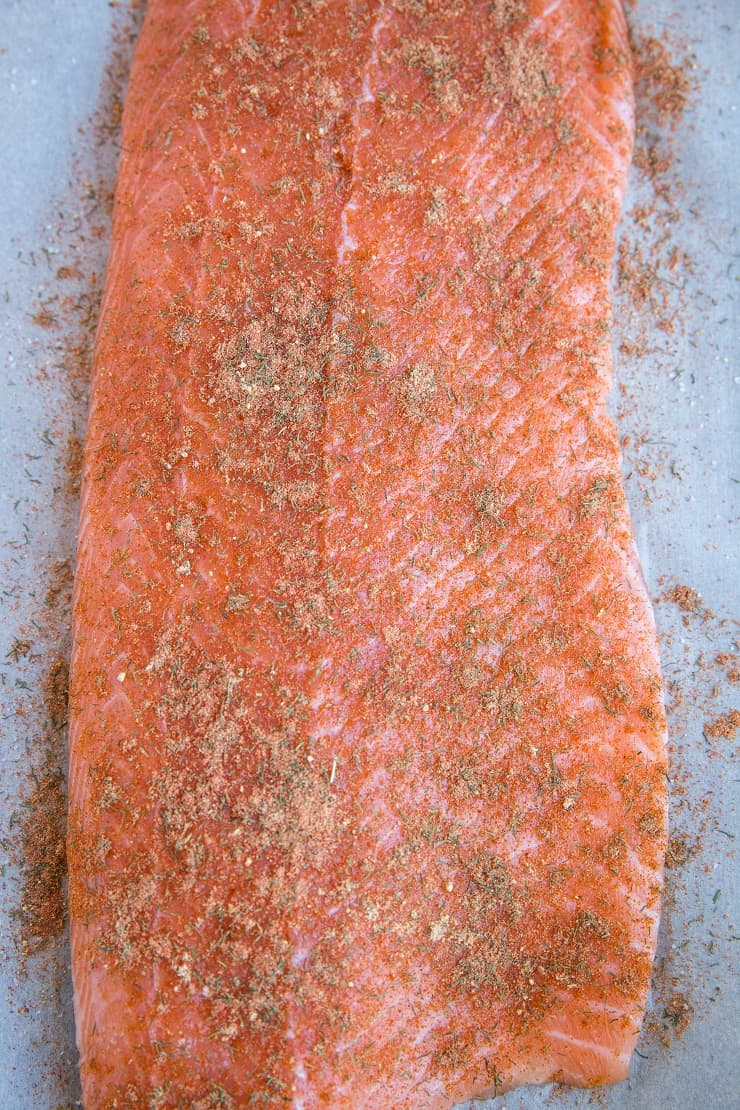 How to make salmon in parchment paper