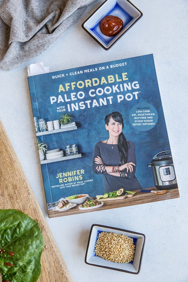 Affordable Paleo Cooking With Your Instant Pot, by Jennifer Robins