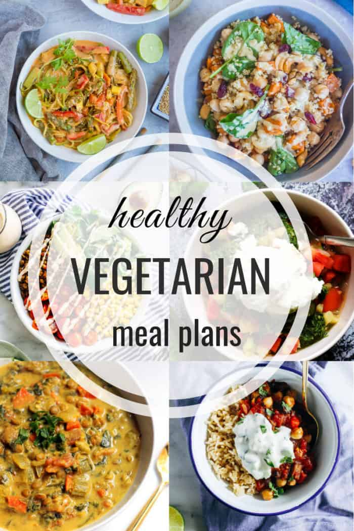 Healthy Vegetarian Meal Plan 9/9/2018