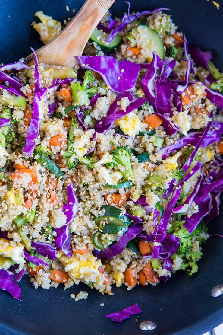 Vegetable Quinoa Fried