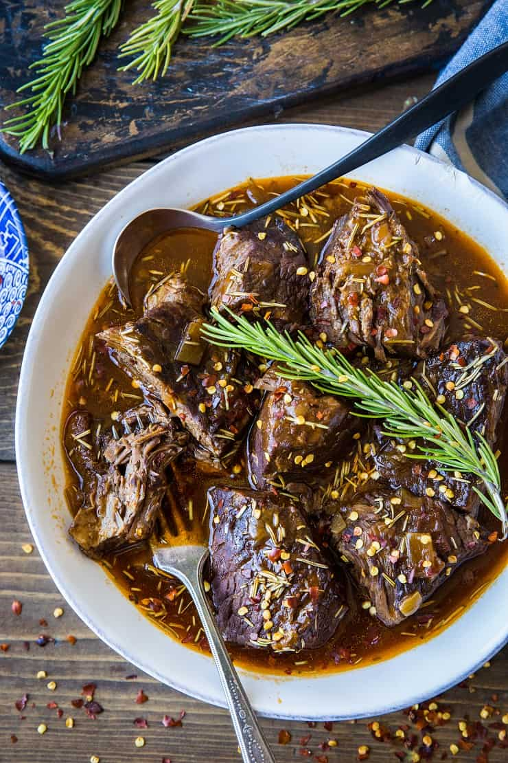 Instant Pot Pot Roast with Balsamic Gravy - paleo, whole30, low carb, keto, healthy dinner recipe | TheRoastedRoot.com