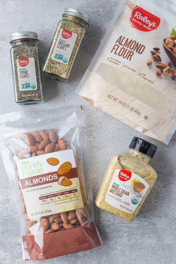 Raley's Purely Made private label ingredients