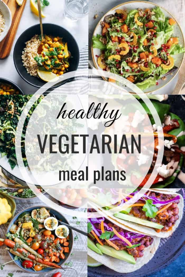 Healthy Vegetarian Meal Plan 02 17 2019 - The Roasted Root