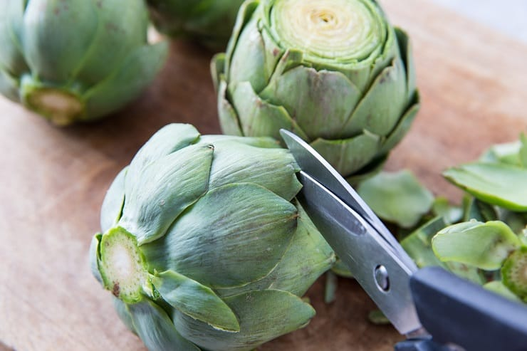 How to make pressure cooker artichokes