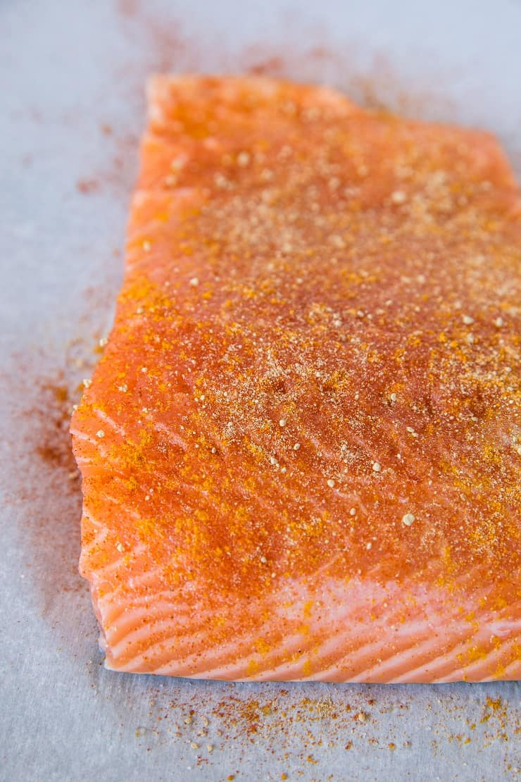 How to make parchment paper salmon