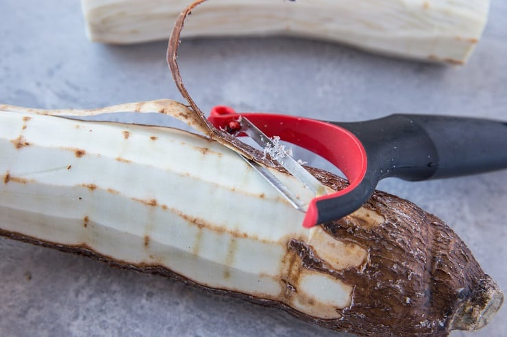 How to Cook Yuca Root - an easy photo tutorial | TheRoastedRoot.net