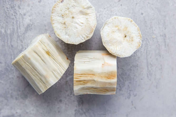 How to tell if a yuca root has gone bad