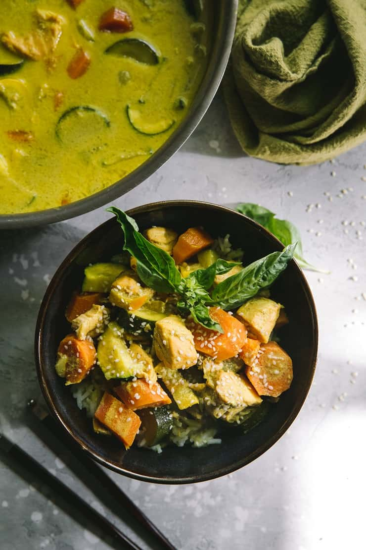 AIP Salmon Curry (Nightshade-Free) - The Roasted Root