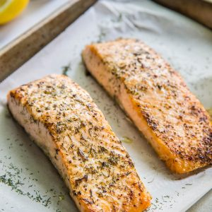 Lemon Herb Salmon Salmon Recipe Plus Product Review