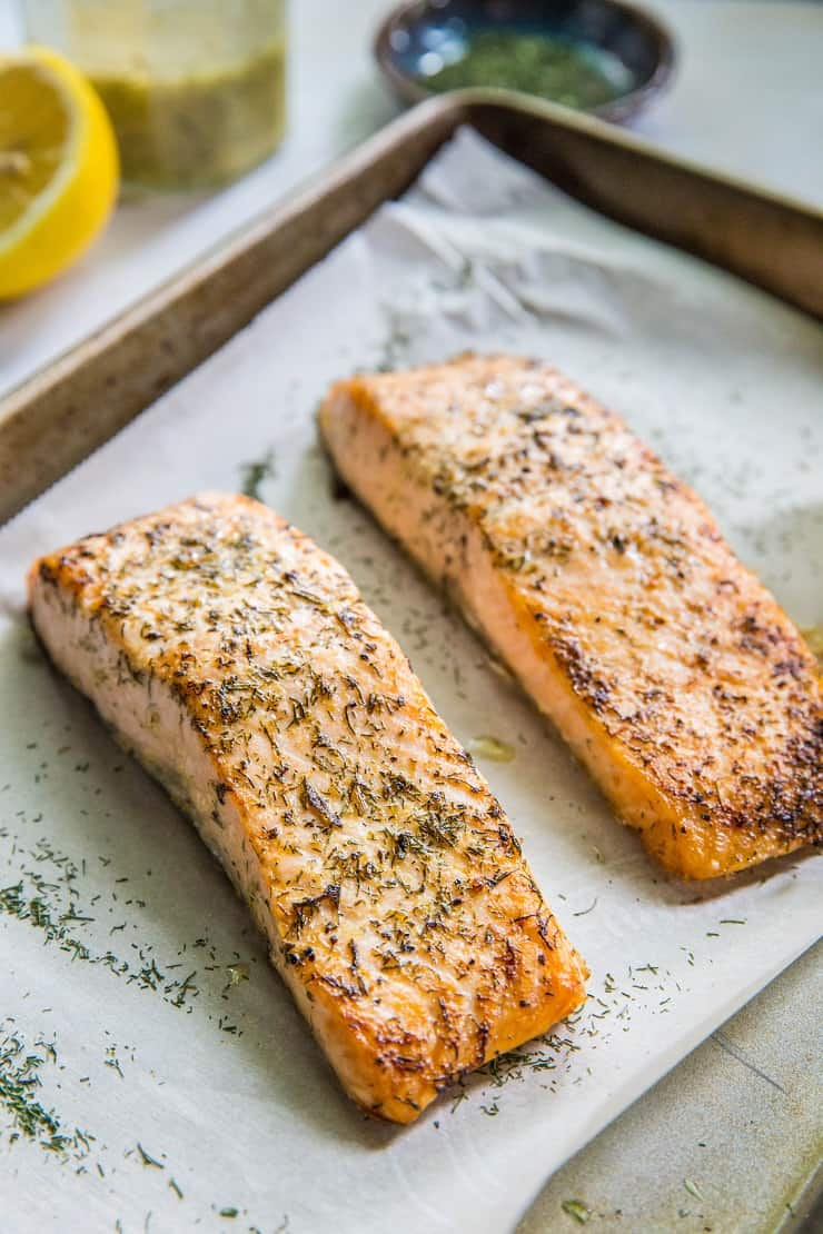 Lemon Herb Salmon Salmon Recipe Plus Product Review