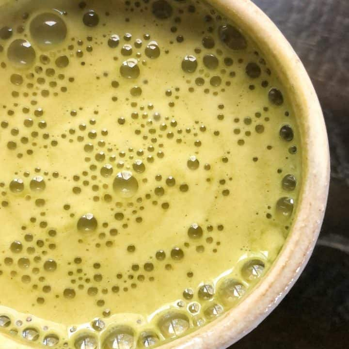 Earl Grey Matcha Latte