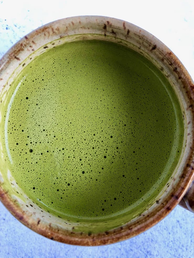Earl Grey Matcha Latte - take your matcha latte to a different level using Earl Grey Tea, beef gelatin and coconut oil - bulletproof matcha