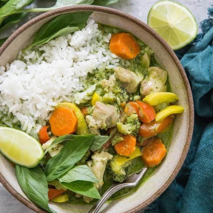 Pressure Cooker Thai Green Curry