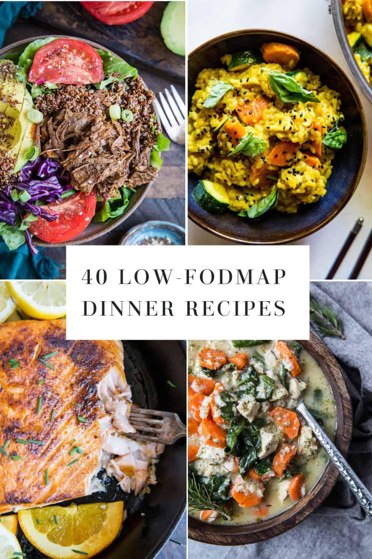 low fodmaps diet recipes