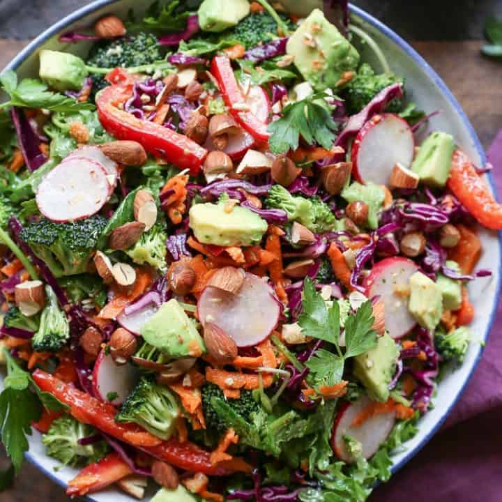 All the Good Veggies Detox Salad
