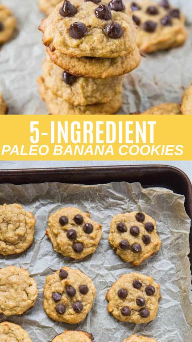 5-INGREDIENT BANANA BREAD COOKIES