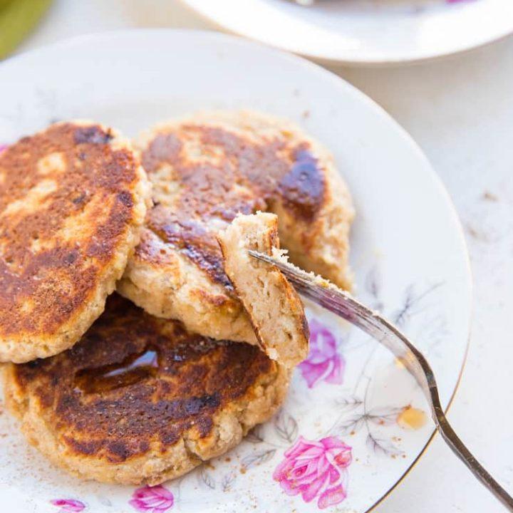 Paleo Vegan Banana Pancakes