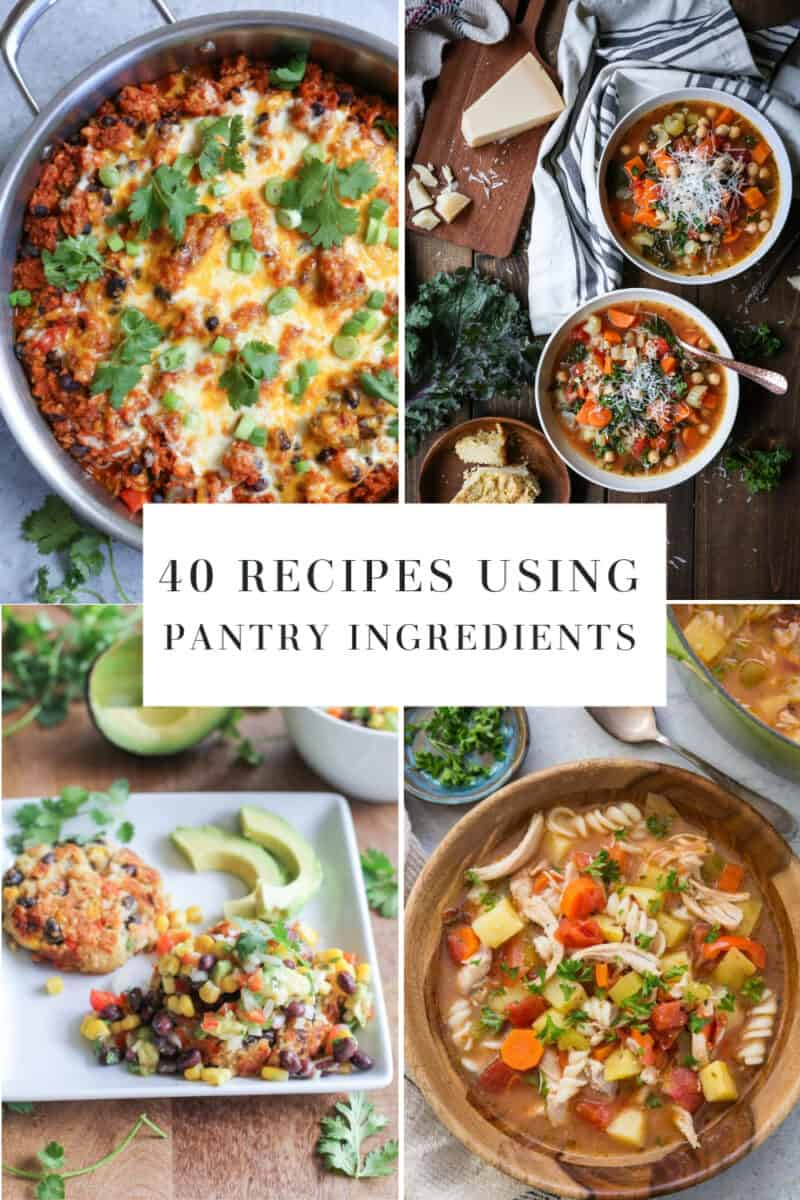 40 Healthy Recipes Using Pantry Ingredients from The Roasted Root