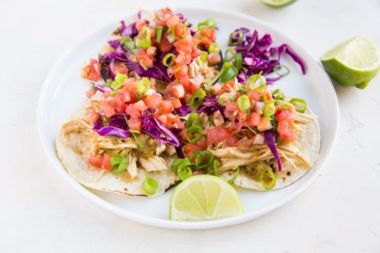 Shredded Chicken Tacos Pressure Cooker