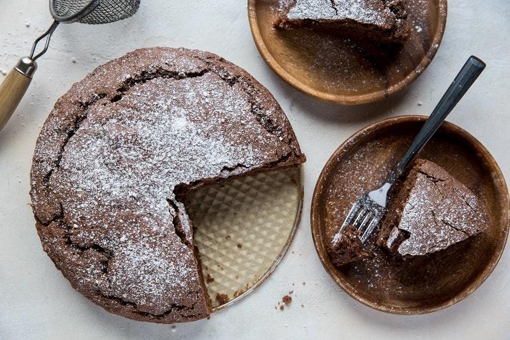 Gluten-Free Chocolate Water Cake