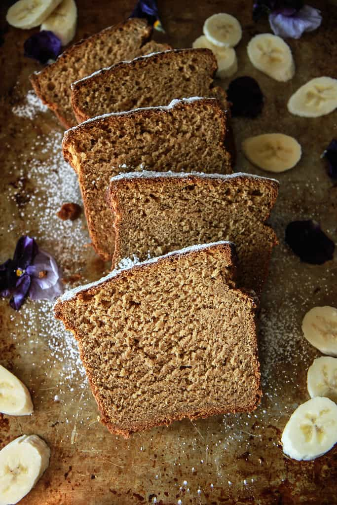 Gluten-Free Sweet Potato Banana Bread