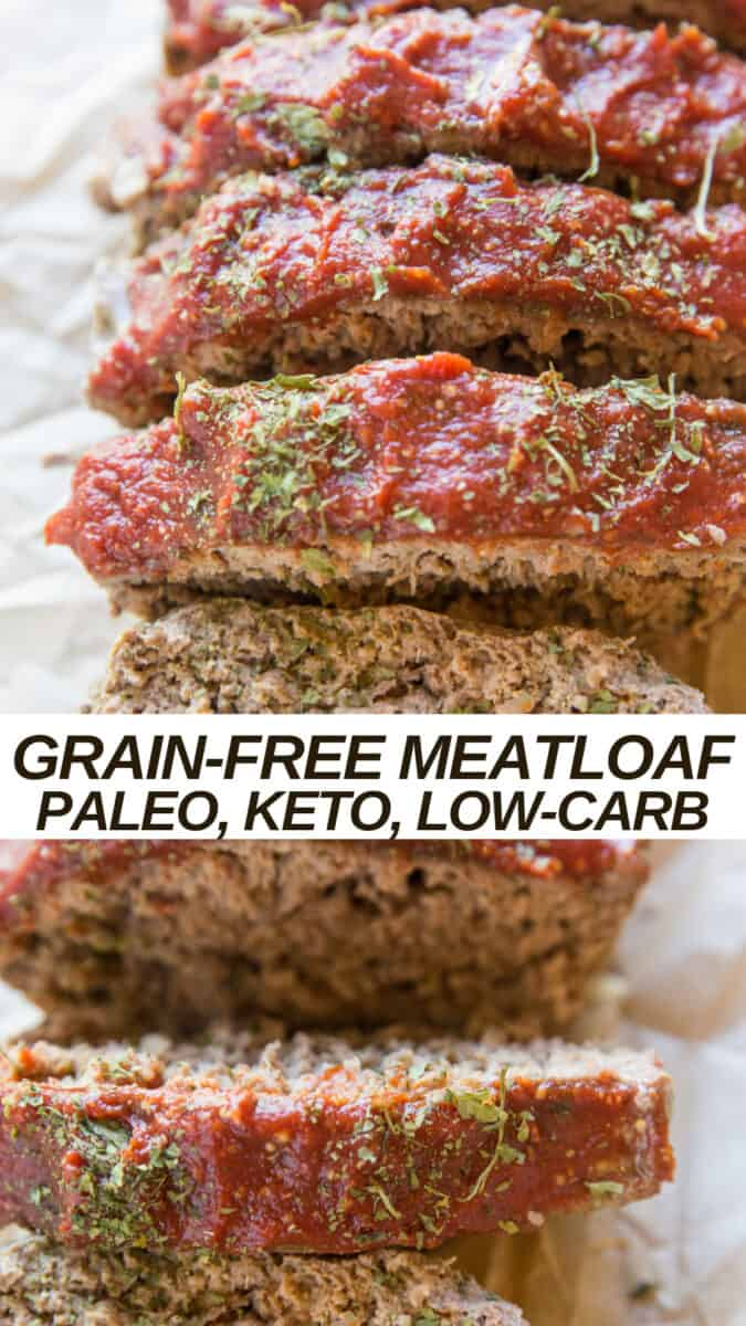 Paleo Meatloaf Recipe - with gluten-free, grain-free and keto options