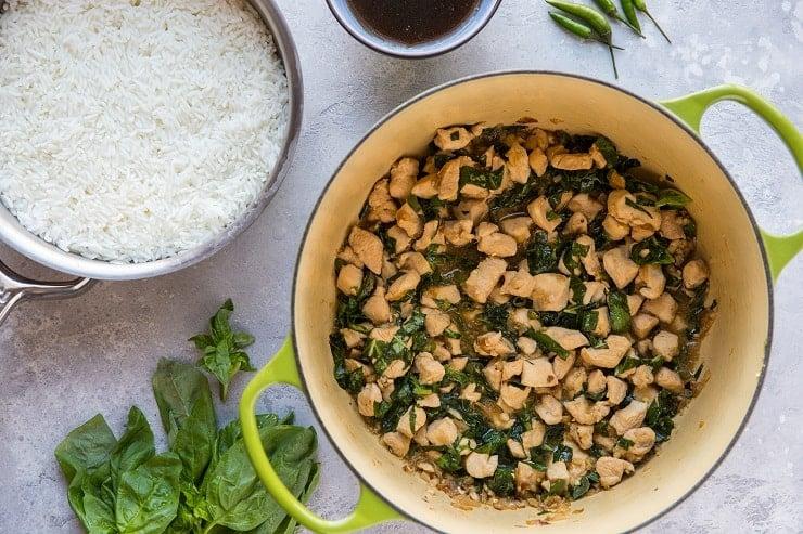 30-Minute Thai Basil Chicken (Pad Krapow Gai)