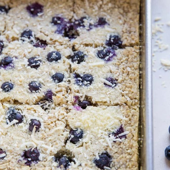 Easy Baked Oatmeal - dairy-free, gluten-free, refined sugar-free and healthy!