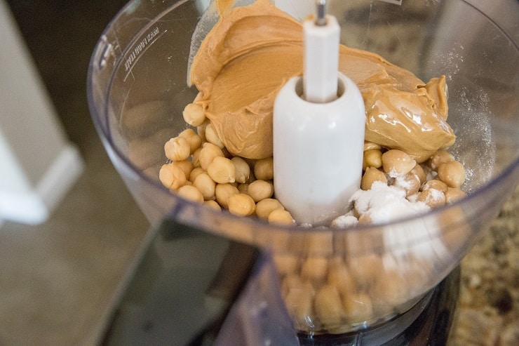 How to make chickpea cookies in a food processor