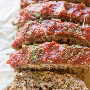 Paleo Meatloaf Recipe - grain-free, dairy-free, easy meatloaf recipe