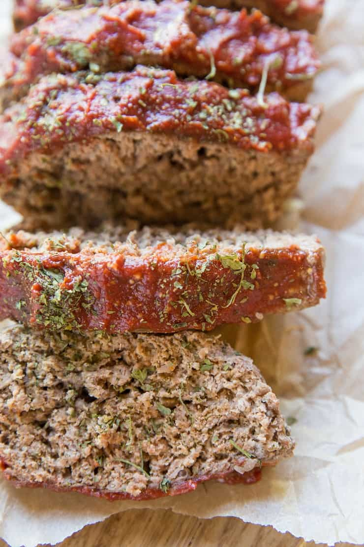 Gluten-Free Meatloaf Recipe with paleo and keto options