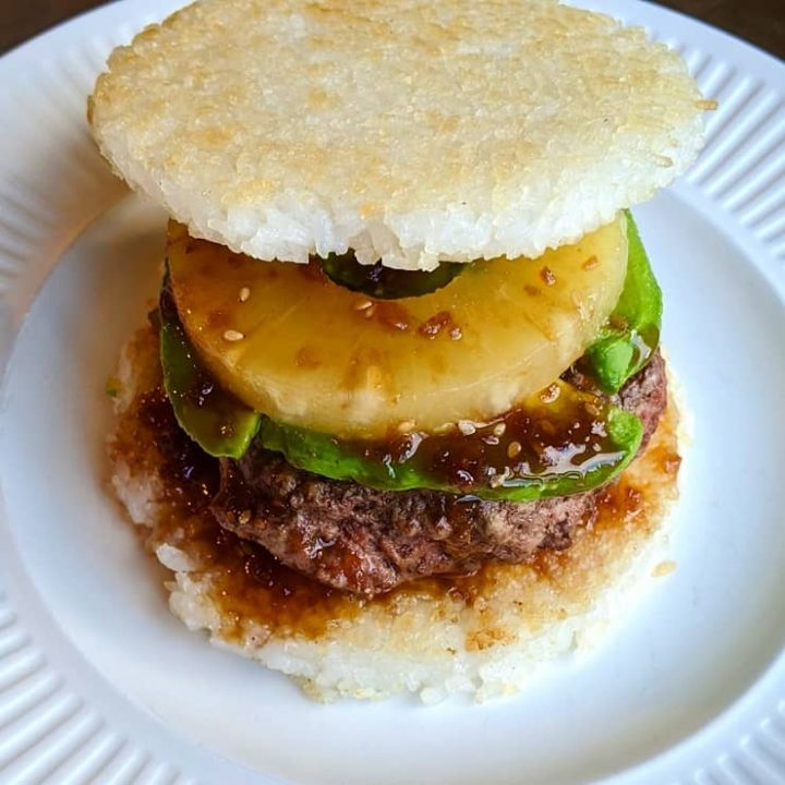 How to Make Rice Bun Burgers using sticky rice - a glorious solution for gluten-free burger buns